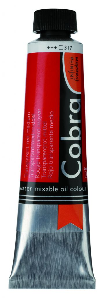COBRA 40ML ROUGE TRANSPARENT MOYEN S3