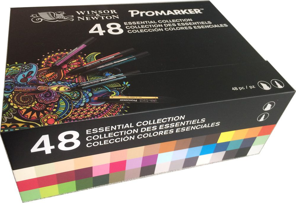 COFFRET 48 PROMARKER W&N ASSORTIS