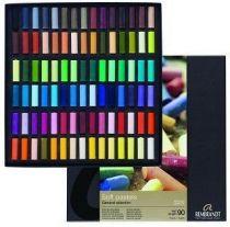 Coffret 90 demi-pastels REMBRANDT