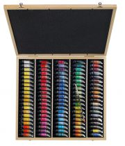 COFFRET AQUARELLE EXTRAFINE SENNELIER 98 COULEURS 10ML