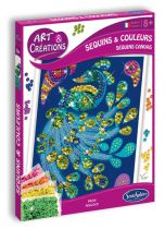 COFFRET ART & CREATION SEQUINS 1 COULEURS PAON