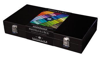 coffret de luxe sennelier 120 demi-pastels