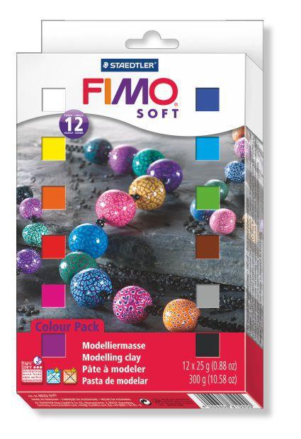 COFFRET FIMO SOFT 12 1/2 BLOCS