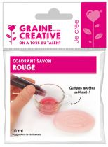 COLORANT À SAVON ROUGE