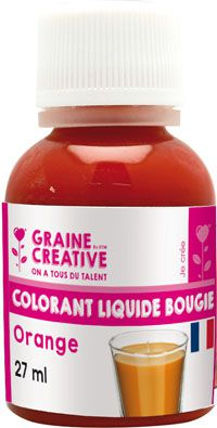 COLORANT LIQUIDE POUR BOUGIE ORANGE