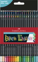 CRAYONS COULEURS BLACK EDITION X 36 FABER CASTELL