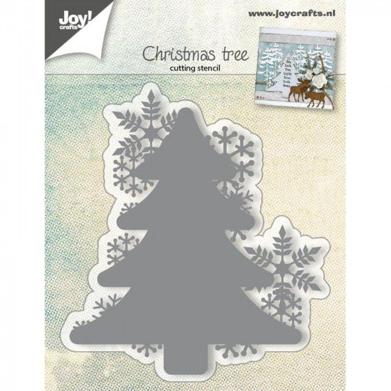 DIE JOY CRAFT CHRISTMAS TREE oct19
