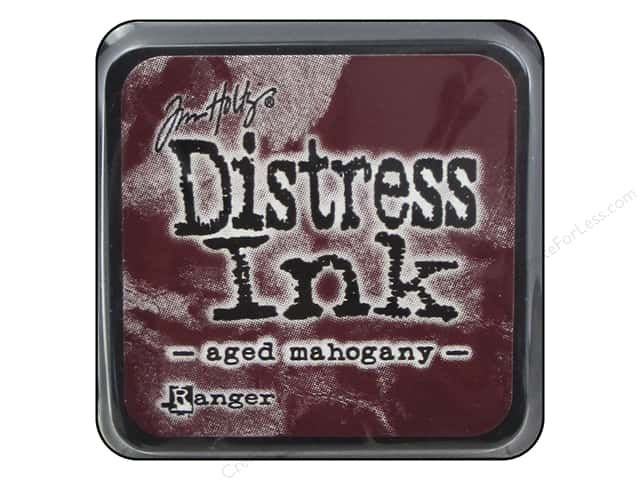 DISTRESS MINI AQUARELLABLE AGED MAHOGANY