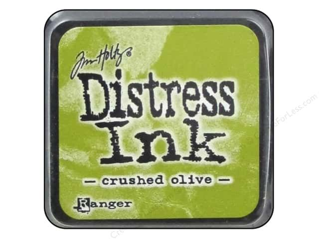 DISTRESS MINI AQUARELLABLE CRUSHED OLIVE