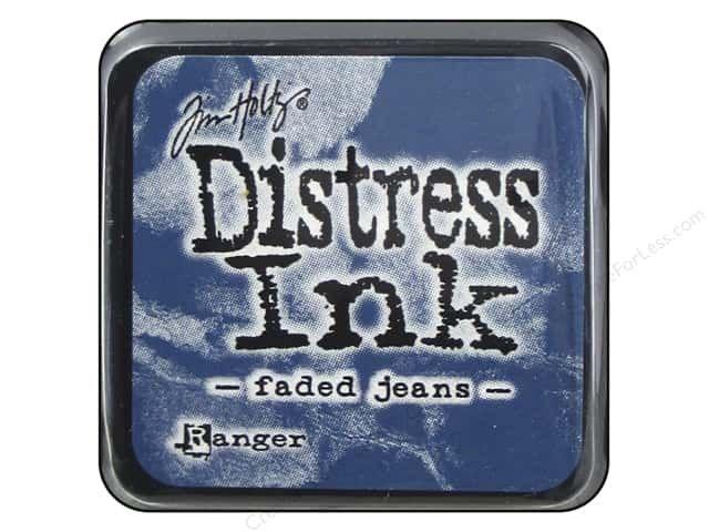 DISTRESS MINI INK FADED JEANS
