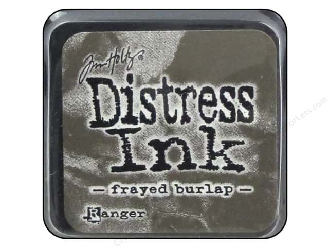 DISTRESS MINI INK FRAYED BURLAP