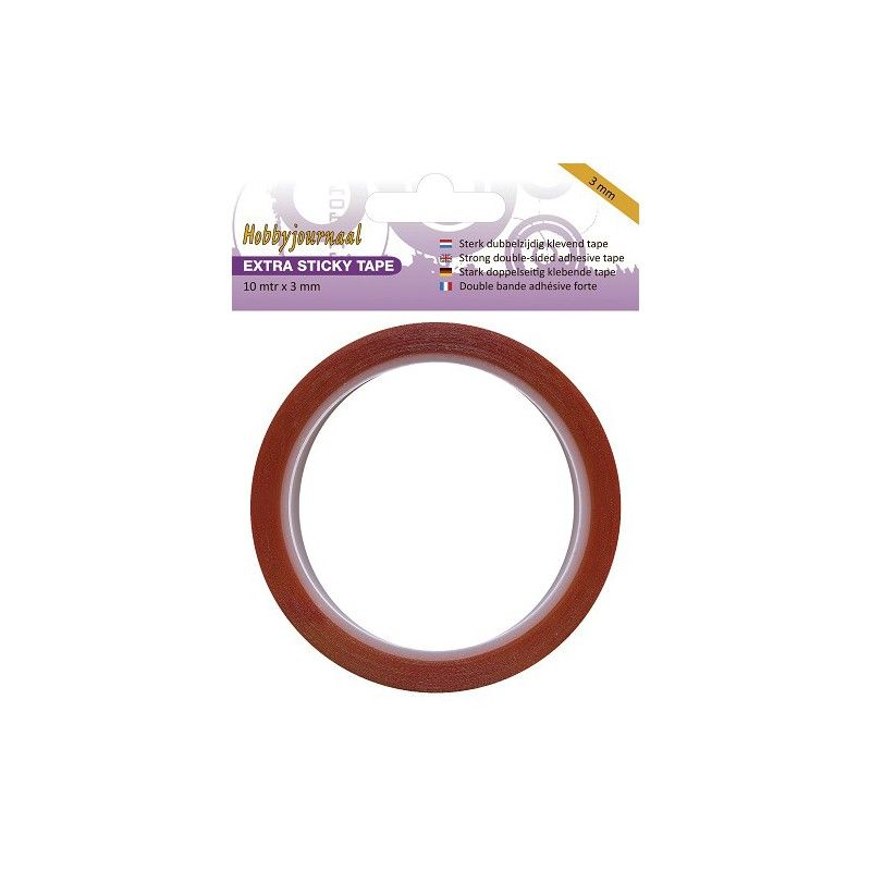 DOUBLE FACE EXTRA FORT 3MM X10M
