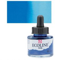 ECOLINE 30ML OUTREMER FONCE
