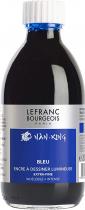 ENCRE A DESSINER EXTRA-FINE LEFRANC BOURGEOIS FLACON 250ML BLEU