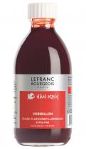 ENCRE A DESSINER EXTRA-FINE LEFRANC BOURGEOIS FLACON 250ML VERMILLON