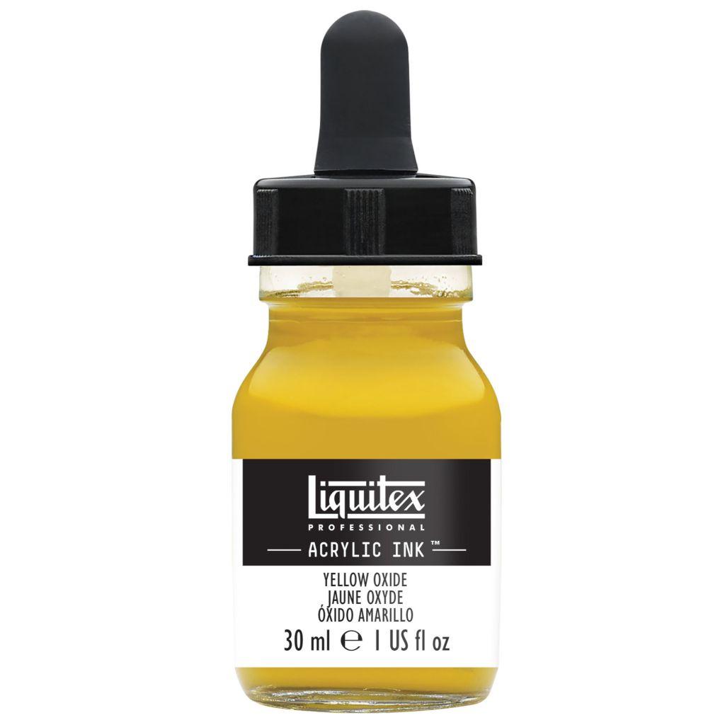 ENCRE ACRYLIQUE INK LIQUITEX 30 ML JAUNE DE MARS