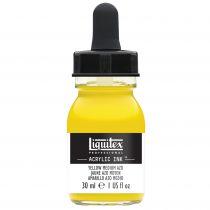 ENCRE ACRYLIQUE INK LIQUITEX 30 ML JAUNE MOYEN