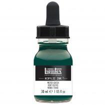 ENCRE ACRYLIQUE INK LIQUITEX 30 ML VERT FEUTRE
