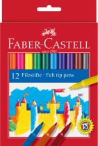 FEUTRES CHATEAU FABER CASTELL X 12