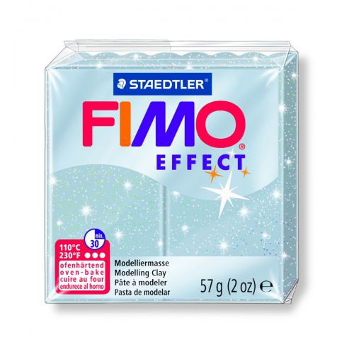 FIMO EFFECT ARGENT BRILLANT