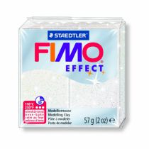 FIMO EFFECT BLANC PAILLETÉ