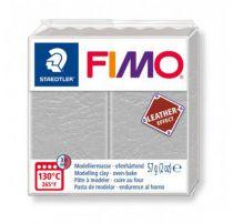 FIMO EFFECT CUIR GRIS PALE