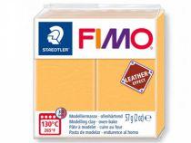 FIMO EFFECT CUIR JAUNE SAFRAN