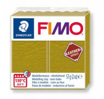 FIMO EFFECT CUIR OLIVE