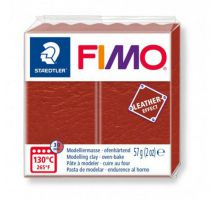 FIMO EFFECT CUIR ROUILLE