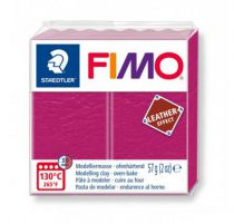 FIMO EFFECT CUIR VIOLET