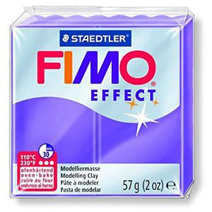 FIMO EFFECT LILAS TRANSPARENT