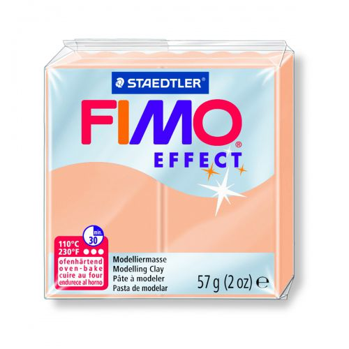 FIMO EFFECT PECHE PASTEL