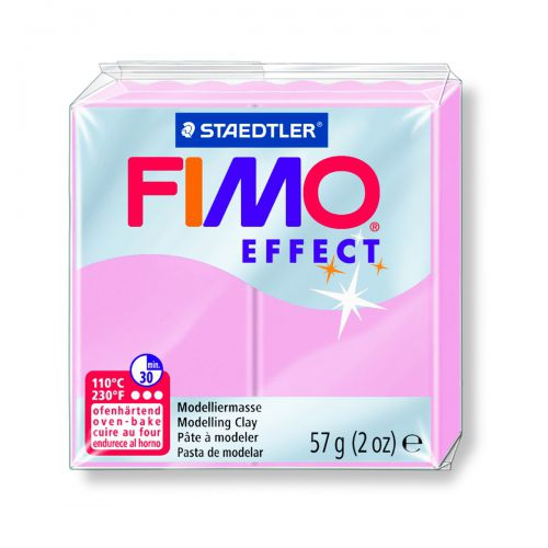 FIMO EFFECT ROSE PASTEL