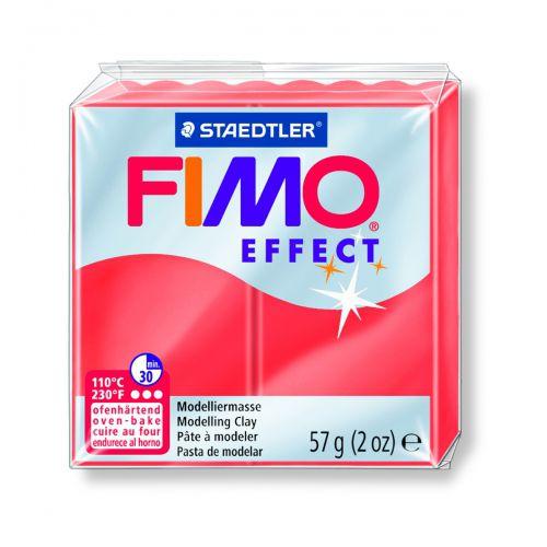 FIMO EFFECT ROUGE TRANSPARENT