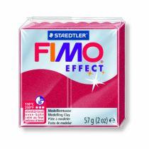 FIMO EFFECT RUBIS MÉTALLIQUE