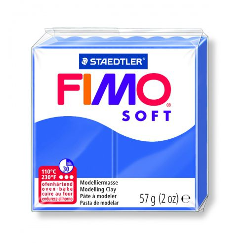 FIMO SOFT BLEU BRILLANT