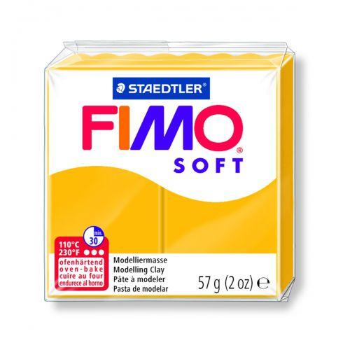 FIMO SOFT JAUNE SOLEIL (TOURNESOL)