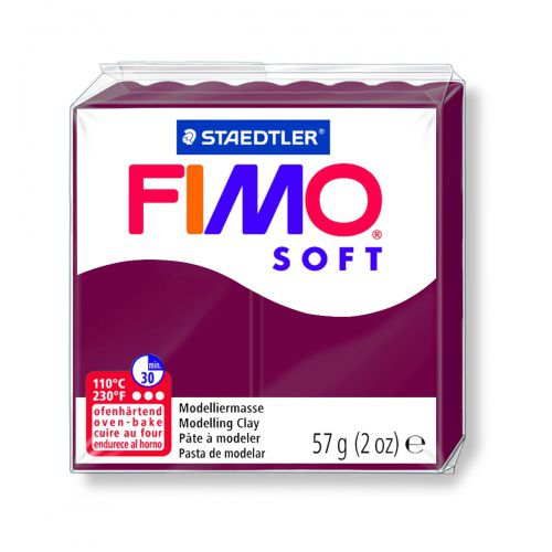 FIMO SOFT ROUGE MERLOT