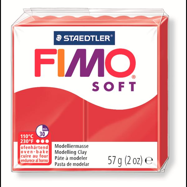 FIMO SOFT ROUGE NOEL