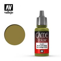 GAME COLOR 031 CAMOUFLAGE GREEN 17 ML