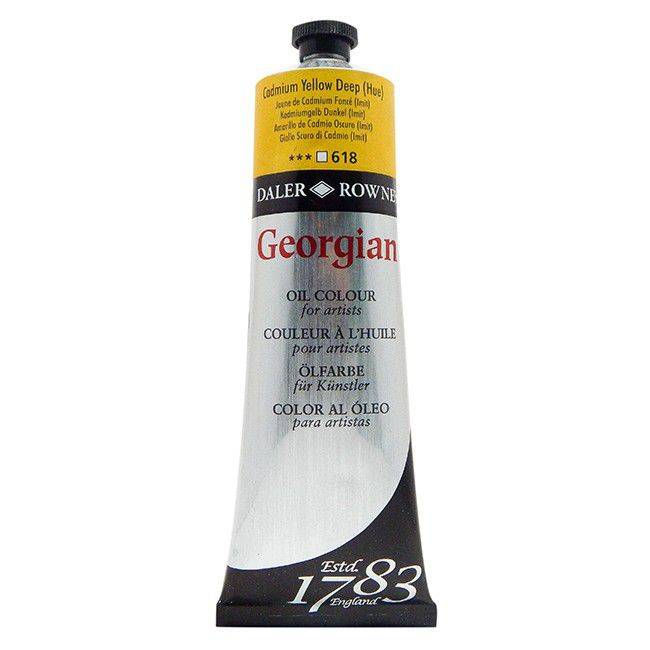 GEORGIAN 225ML JAUNE CADMIUM FONCE