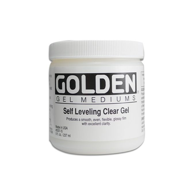 GOLDEN 236ML GEL TRANSPARENT EFFET LAQUE