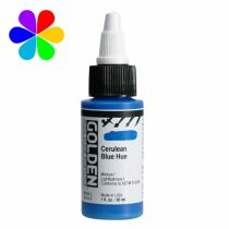GOLDEN 30ML HIGH FLOW BLEU CERULEUM S3