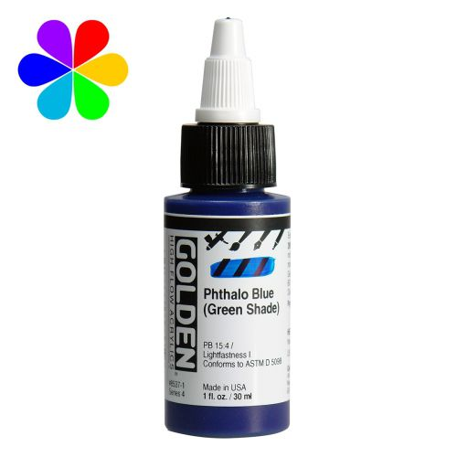 GOLDEN 30ML HIGH FLOW BLEU DE PHTHALO S4