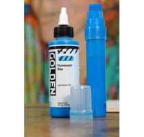 GOLDEN 30ML HIGH FLOW BLEU FLUO S5