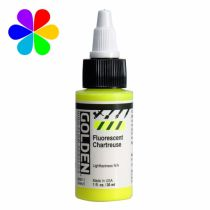 GOLDEN 30ML HIGH FLOW FLUORESCENT CHARTREUSE S5