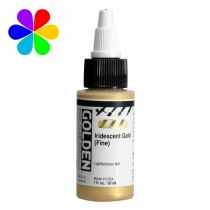 GOLDEN 30ML HIGH FLOW IRIDESCENT OR S6