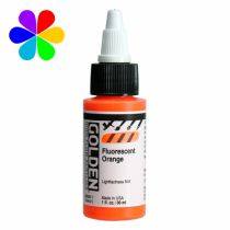 GOLDEN 30ML HIGH FLOW ORANGE FLUO S5