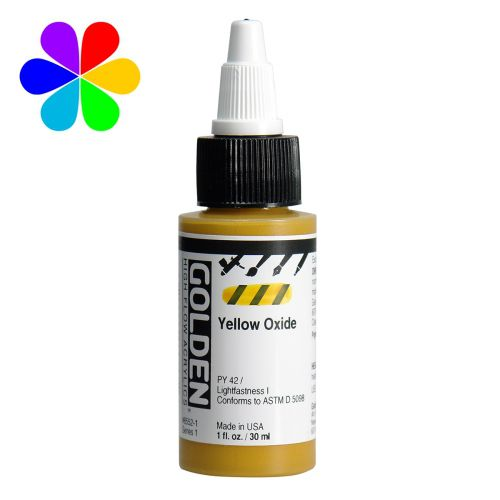 GOLDEN 30ML HIGH FLOW OXYDE JAUNE S1