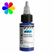 GOLDEN 30ML HIGH FLOW PHTHALO BLEU TRANSPARENT S6
